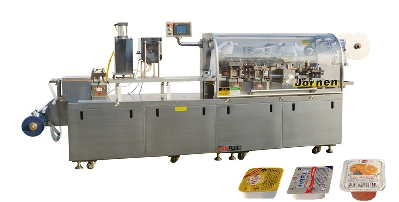 Thermoforming Packaging Machine DPP260 (for cheese, jam, butter.)