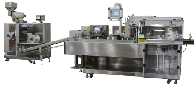 Strip Packing-Cartoner Line