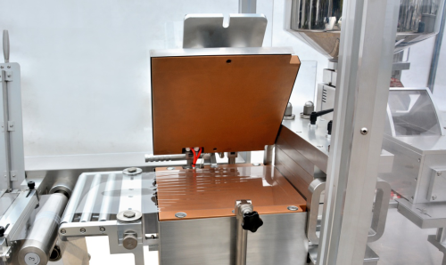 Blister Packaging Machine, heating station can be open for cleaning