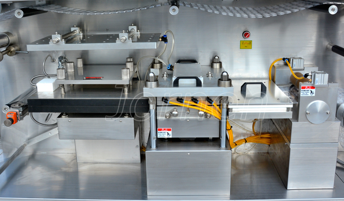 Blister Packaging Machine blister forming and material drag system