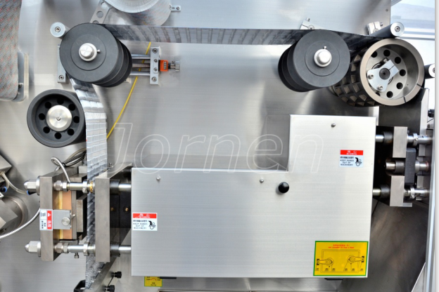 Blister Packaging Machine, embossing station and drag system